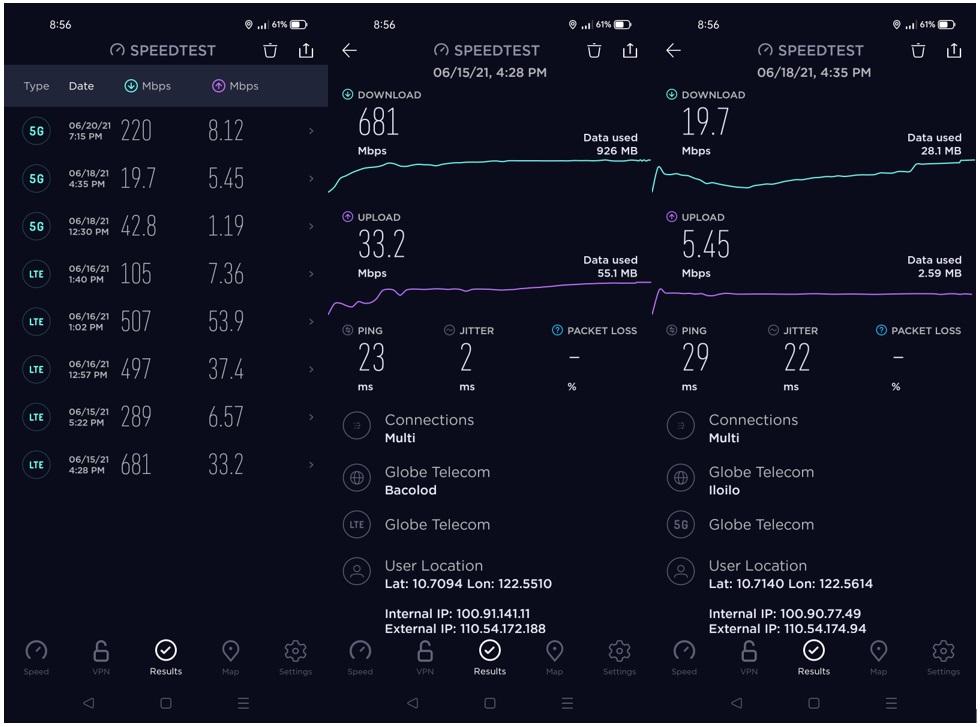 realme 8 5G - 5G Connectivity