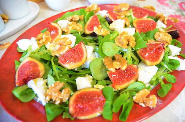 Las delicias de Mayte, ensalada de otoño, ensaladas otoño invierno, ensalada de invierno, ensalada diferente super fácil y con un sabor espectacular, ensalada diferente, ensalada fácil,