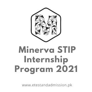 Minerva STIP Internship Program 2021