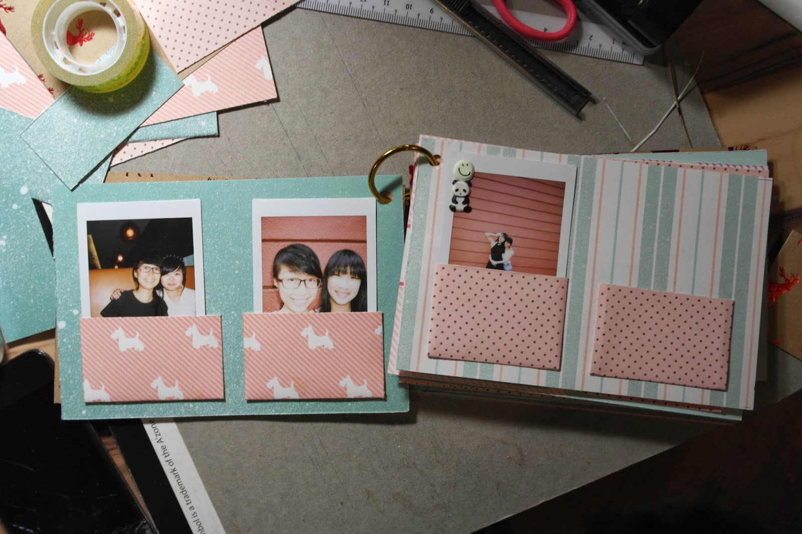 Assez ✿ heyLemonade ✿: D.I.Y Polaroid Film Album OE91