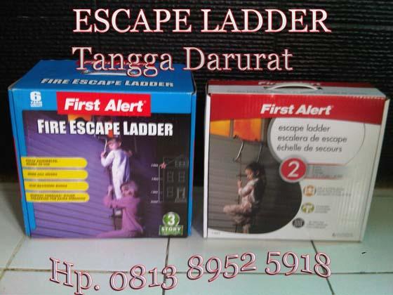 Foto Tangga Darurat escape ladder 2 lantai dan 3 lantai