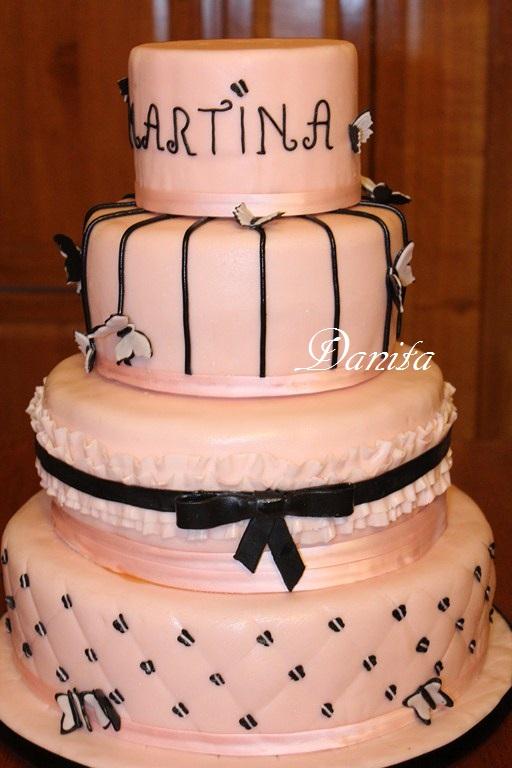 Eccezionale Le leccornie di Danita: La torta a 4 piani fashion KM12