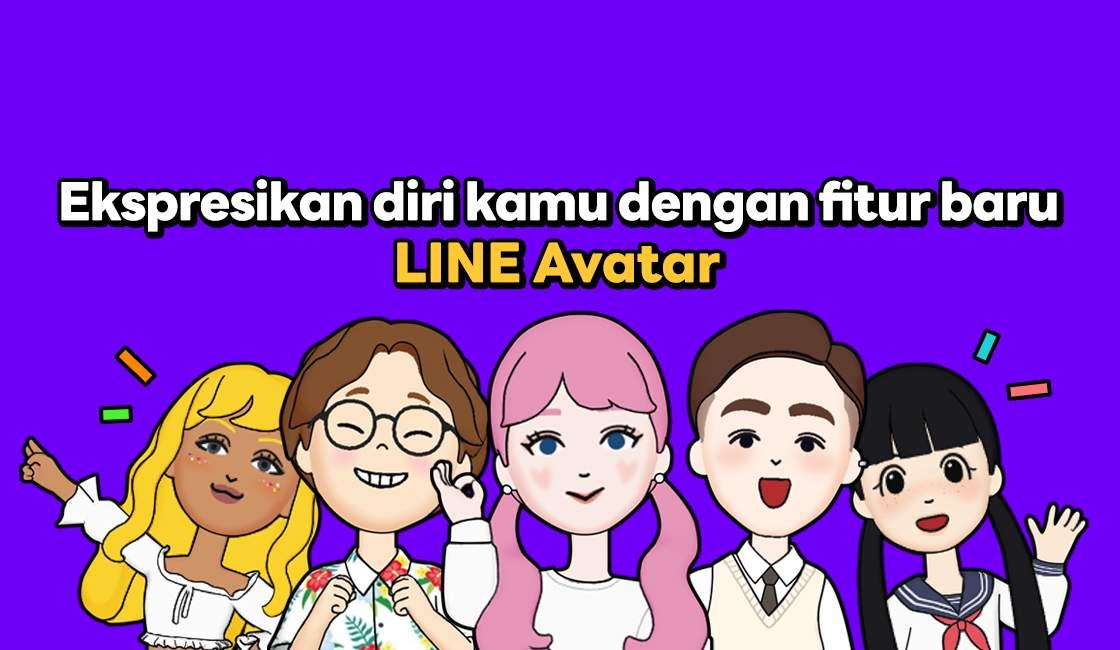 Cara Membuat Avatar di Line (line.me)