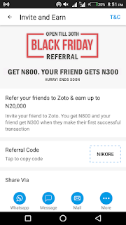 Get Free Airtime Using Zoto Mobile App - Up To N20,000