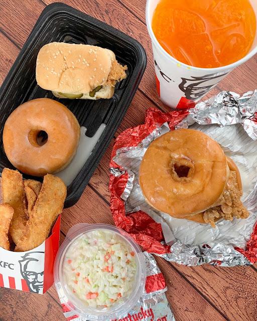 KFC Chicken Donut Sandwich Review