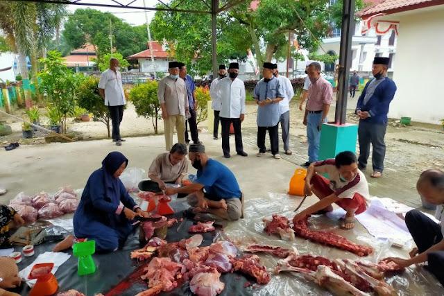 Pemkab Asahan Bagikan 7.800 Kupon Daging Kurban ke Masyarakat