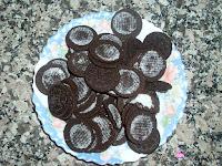 Galletas Oreo sin crema