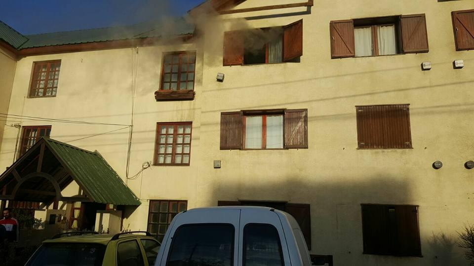Incendio en un departamento