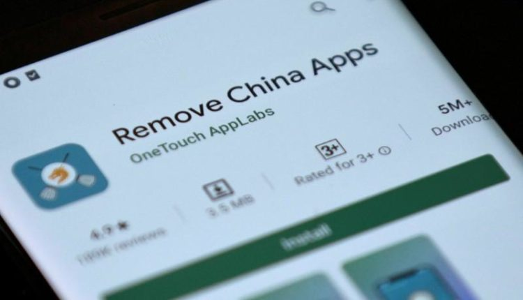 Google deletes an Indian app targeting Chinese apps
