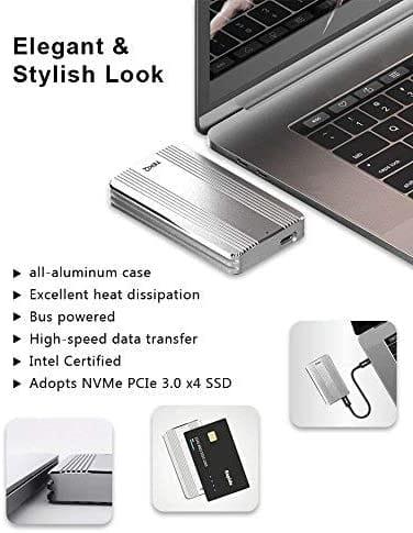 Review TEKQ Rapide Portable External Thunderbolt 3 SSD