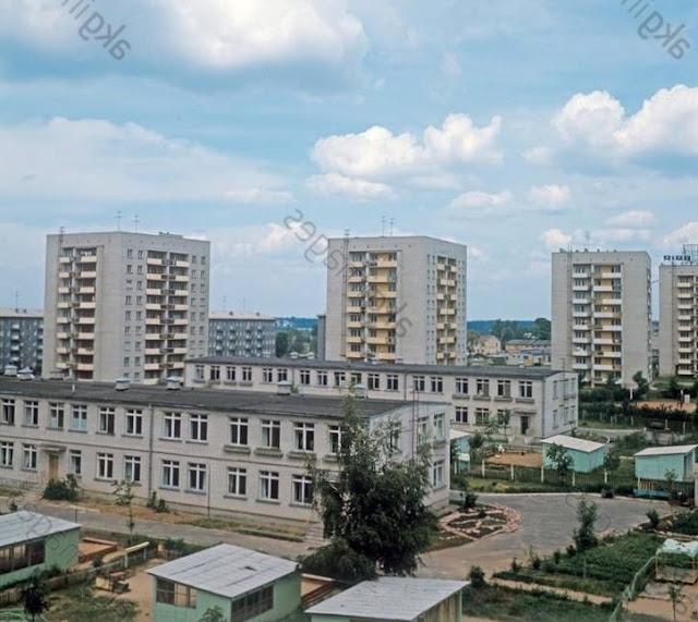 1969 год. Рига. Архитектура рижского района Югла (автор фото: Ян Тихонов)
