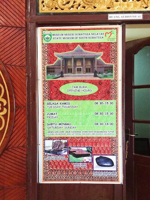 museum balaputeradewa kota palembang