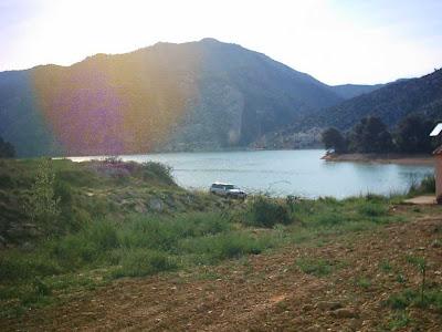 Pantano ,embalse, Pena ,Beceite ,frontera ,Valderrobres, túnel Parrizal, finca 2