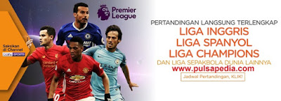 Voucher Orange TV Liga Inggris, Champions, Spanyol 2018