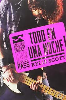 Todo en una noche   Stage dive #1   Kylie Scott