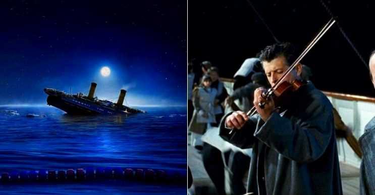 Titanik kemancısı kendini müziğin ritmine kaptırmıştı, koşuşturan insanları fark etmiyordu.