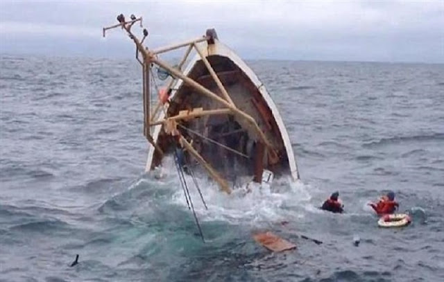 """اكلو تزنيت... غرق مركب الصيد  """"مارمارا """" و فرق الإنقاد تبحث عن طاقمه"""