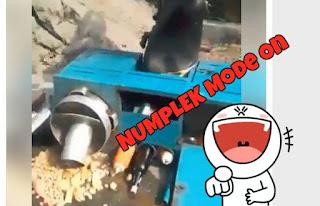 NUMPLEK Mode ON !!! Tukang Pentol VIRAL Gagal Freestyle :D