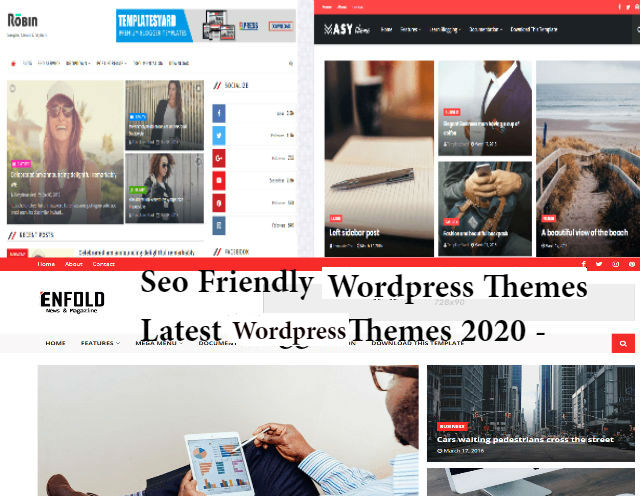 Wordpress seo friendly theme  and templates 2020