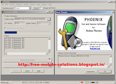 Phoenix Service Software (Nokia Flashing Software) 2015-2016 For Windows Xp.7.8. 8.1.Vista
