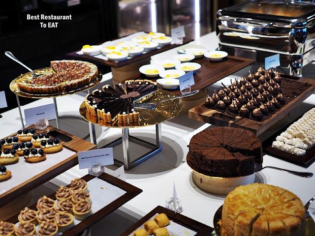 NIPAH @EQ KUALA LUMPUR Chinese New Year Buffet Menu - Dessert Selection