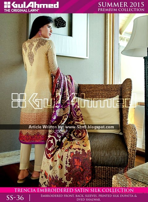 Gul Ahmed Spring Summer 2015-2016 Catalog