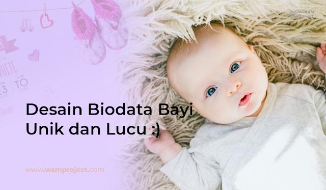 download-desain-biodata-bayi