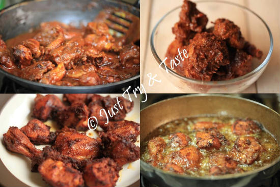 resep ayam goreng spicy frozen food