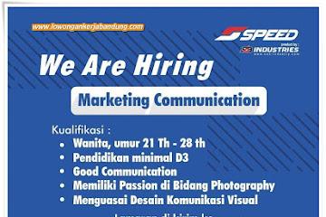 Lowongan Kerja Bandung Marketing Communication Speed Jersey