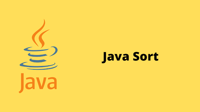 HackerRank Java Sort problem solution