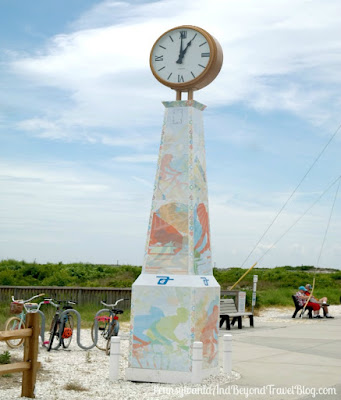 Wildwood Crest Beach Front Town Clock in New Jersey