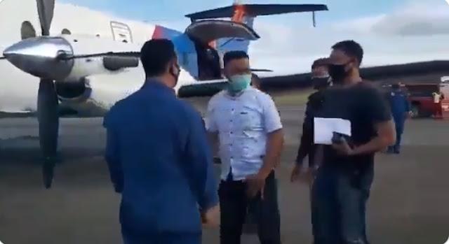 GEMPAR! Inilah Video Ruslan Buton Tolak Uang 1 Kantong Plastik dan Bilang Jam 2 Malam Bandara Penuh TKA China