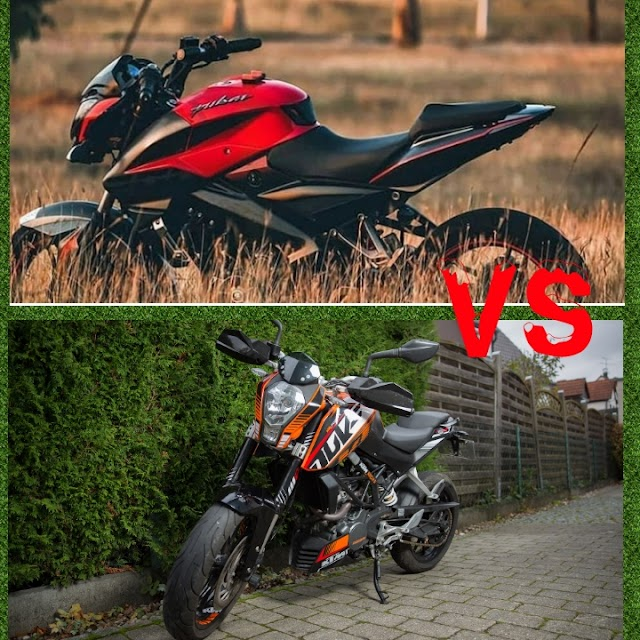 KTM DUKE 200 VS PULSAR NS 200 AND SPECIFICATION