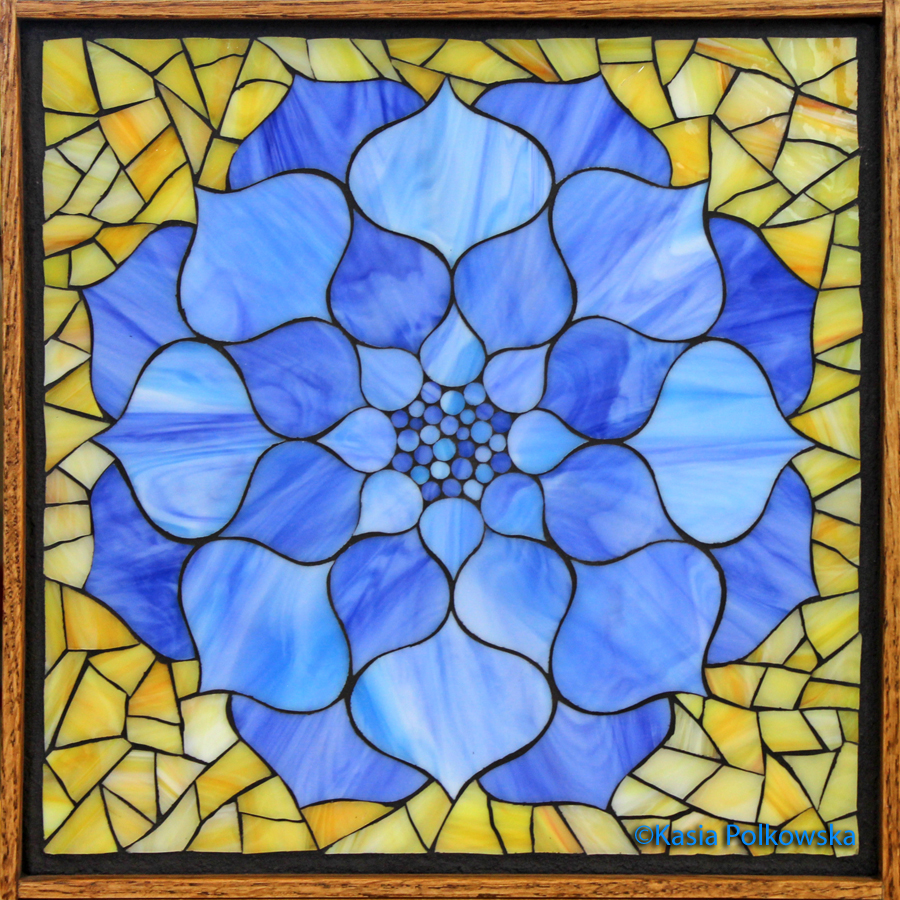 Kasia Mosaics Lotus Flower Comission