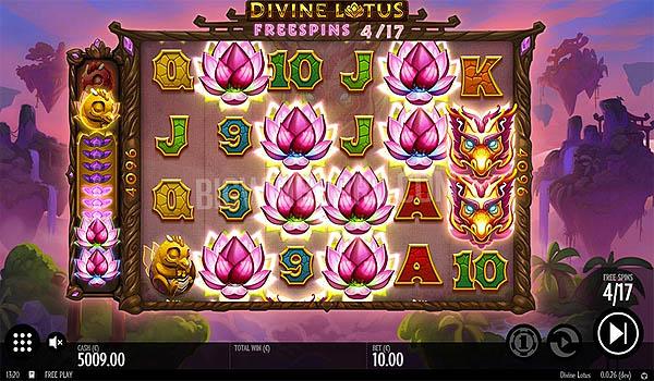 Main Gratis Slot Indonesia - Divine Lotus (Thunderkick)
