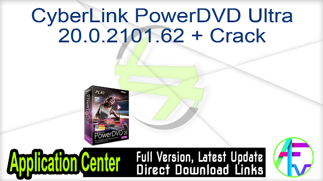 CyberLink PowerDVD Ultra 20.0.2101.62 + Crack