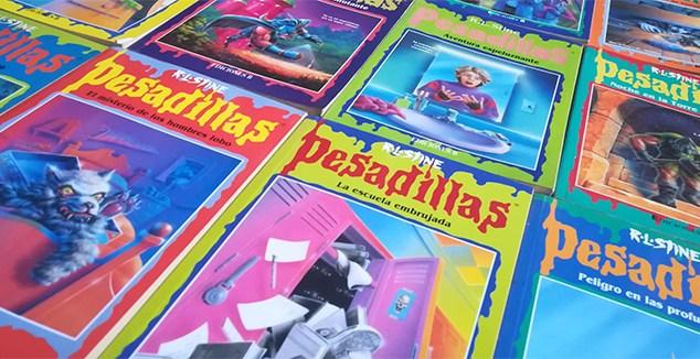 Los libros de 'Pesadillas' de R.L. Stine serán adaptados en una nueva serie de televisión