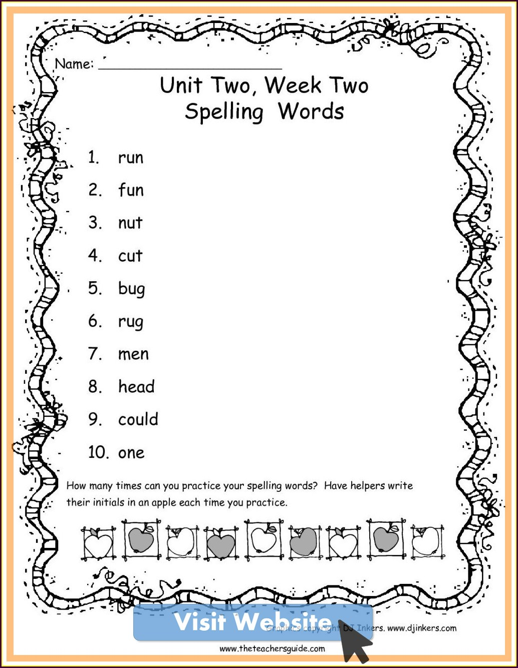 Ordinal Numbers First Grade Math Worksheets