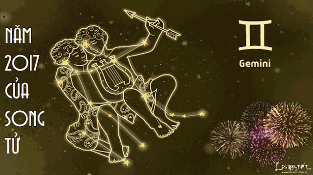 Tử vi năm 2017 của cung hoàng đạo Song Tử