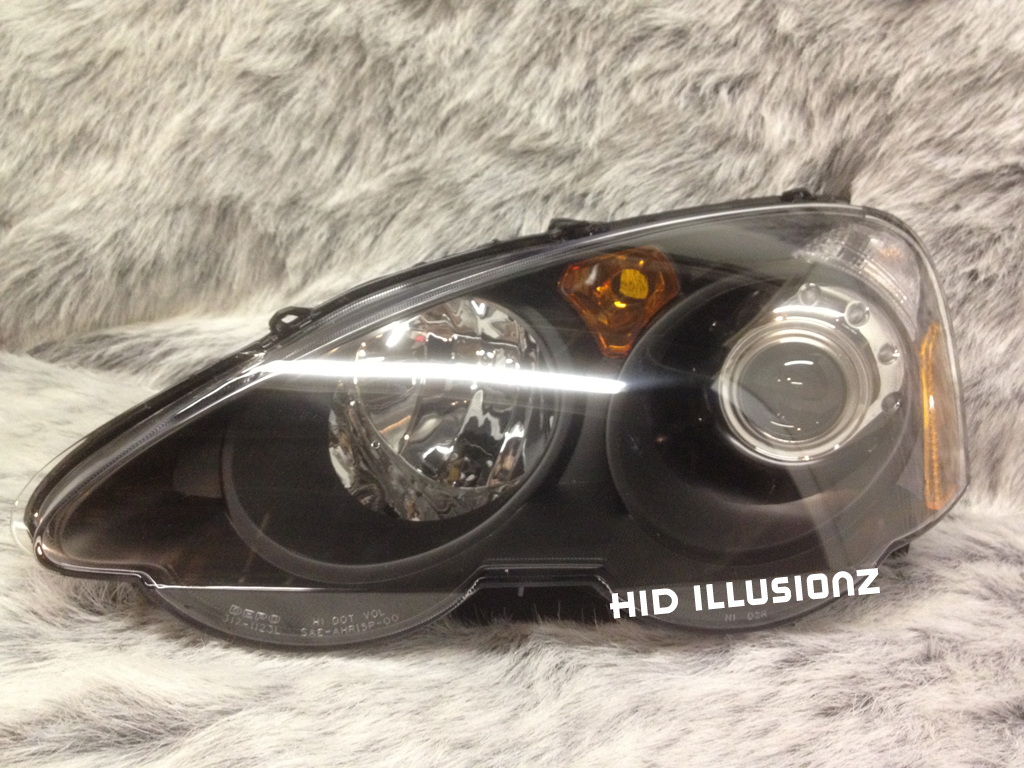 87 2003 Rsx Headlight Acura Custom Factory Headlights Engine Wiring Diagram Hidillusionz Lifetime Warranty Hid Retrofit Projector Led Tail Lights Headlamps Fog Light Retrofits Housing
