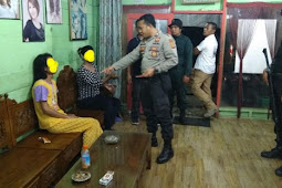 Belasan Bencong / Banci diamankan Polres Aceh Utara bersama Wilayatul Hisbah.