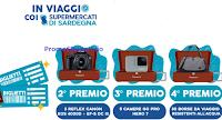 Logo ''In viaggio con i Supermercati di Sardegna Pam e Metà'': vinci Borse, GoPro, fotocamere e viaggio