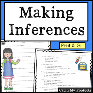 reading skills of making inferences
