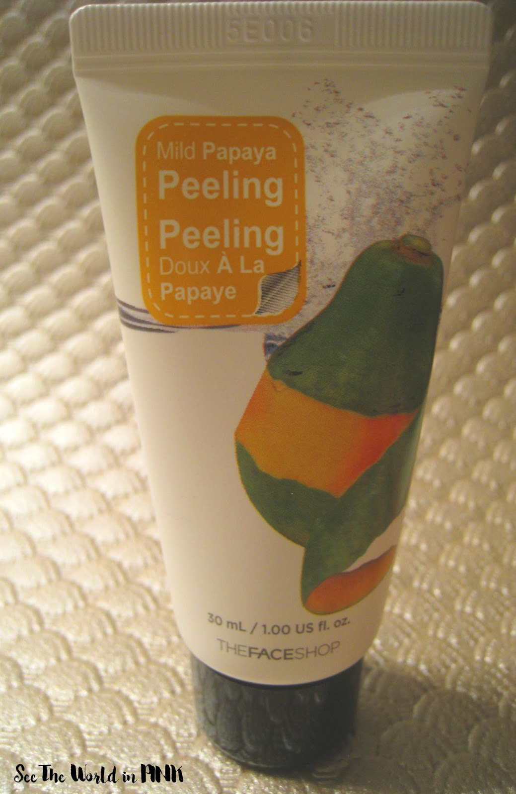 THEFACESHOP Mild Papaya Peeling Review