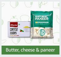 Butter, Cheese & Panner