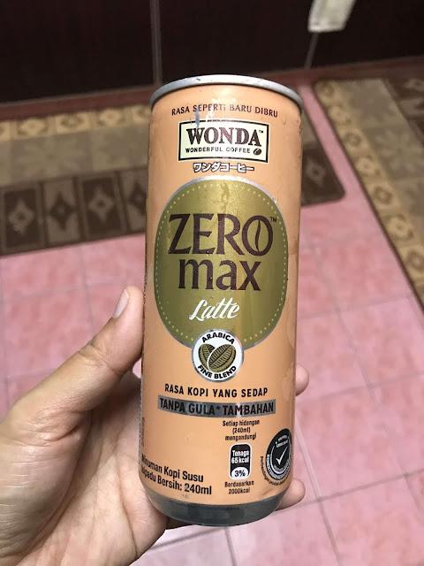 Rasa Kopi Wonda tanpa gula tambahan
