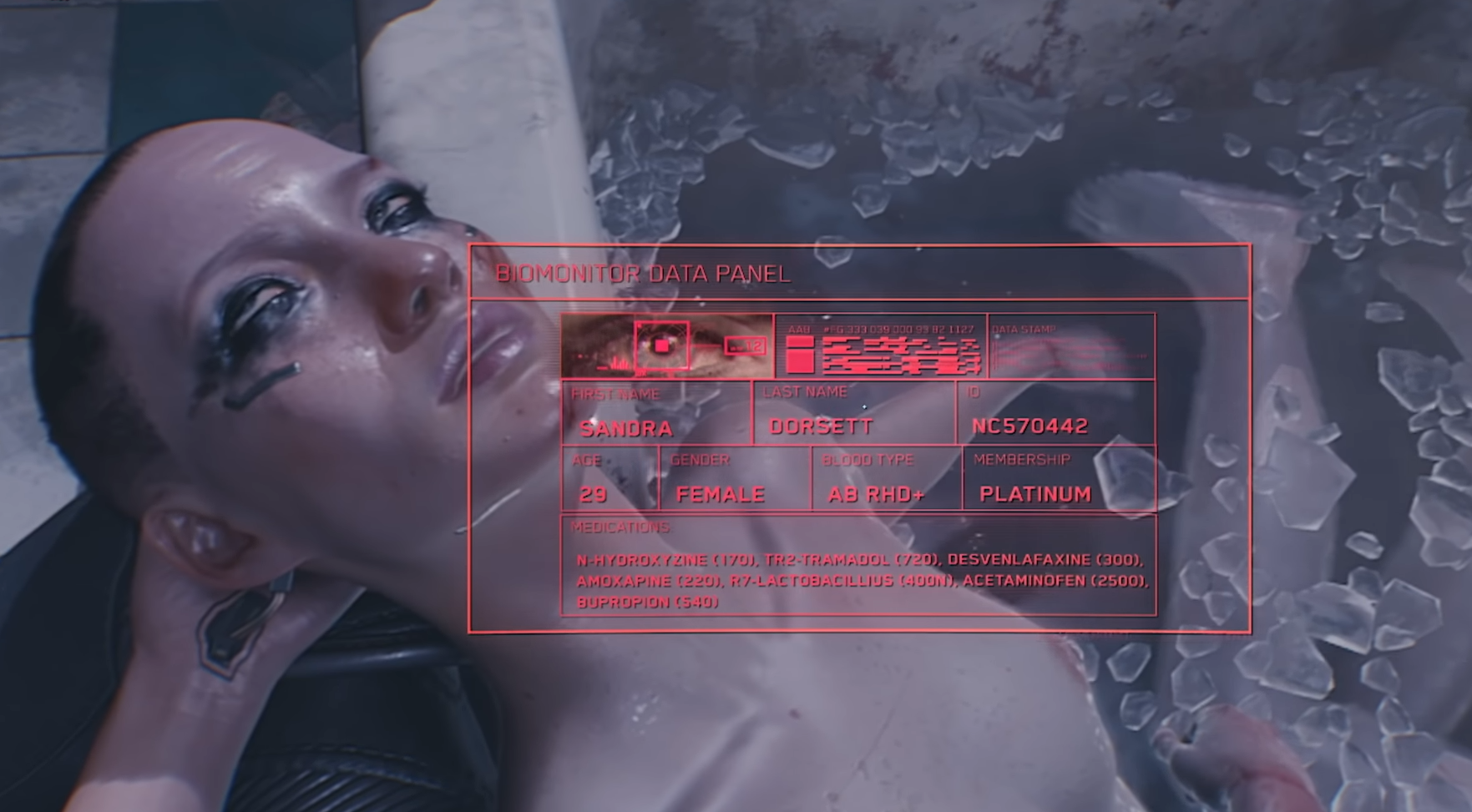 """Passage of the mission """"The last game of rescuers"""". How do I find Sandra Dorsett in Cyberpunk 2077?"""