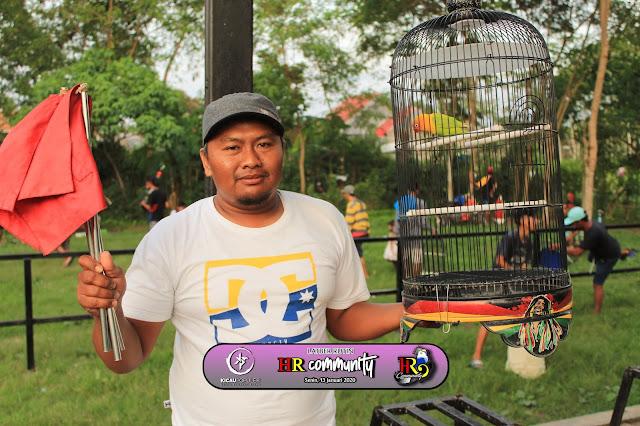 Lovebird Bopo Bima Juara 1 & 1