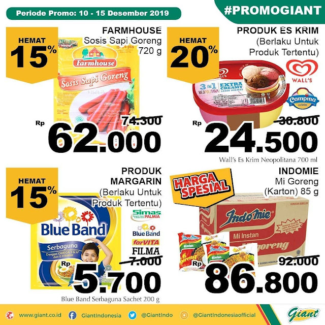 #Giant - #Promo Katalog Periode 10 - 15 Desember 2019