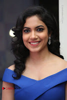 Actress Ritu Varma Pos in Blue Short Dress at Keshava Telugu Movie Audio Launch .COM 0062.jpg